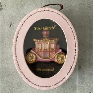Juicy Couture Princess Carriage Ornament